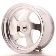 Japan Racing JR15 16x8 ET25 Custom Silver Machined