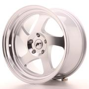 Japan Racing JR15 17x9 ET25 Custom Silver Machined