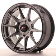 Japan Racing JR11 16x7 ET30 5H Custom Dark Hiper Black