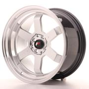 Japan Racing JR12 17x9 ET25 5x100/114 Hyper Silver