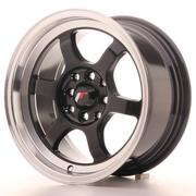Japan Racing JR12 17x9 ET25 Blank Gloss Black