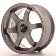 Japan Racing JR3 15x7 ET35 Custom Gun Metal