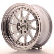 Japan Racing JR26 16x8 ET25 4x100/108 Machined Silver