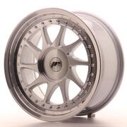 Japan Racing JR26 17x8 ET20-35 Custom Machined Silver
