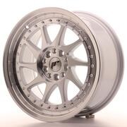 Japan Racing JR26 17x8 ET35 4x100/114 Machined Silver