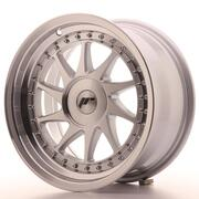 Japan Racing JR26 16x8 ET10-30 Custom Machined Silver