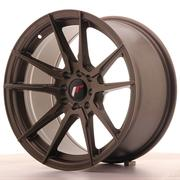 Japan Racing JR21 17x9 ET20 5x100/114 Matt Bronze