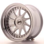 Japan Racing JR26 16x9 ET25 Custom Machined Silver