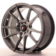 Japan Racing JR21 17x8 ET25 4x100/108 Hiper Black
