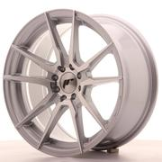 Japan Racing JR21 17x8 ET25 4x100/108 Silver Machined