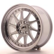 Japan Racing JR26 17x9 ET20 4x100/108 Machined Silver