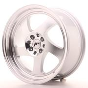 Japan Racing JR15 17x8 ET25 4x100/108 Machined Silver