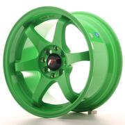 Japan Racing JR3 15x8 ET25 4x100/108 Green