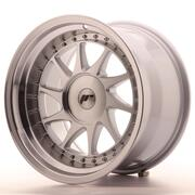 Japan Racing JR26 17x10 ET0-25 Custom Machined Silver