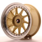 Japan Racing JR26 17x9 ET20-35 Custom Gold