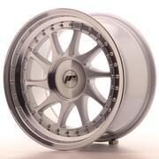 Japan Racing JR26 17x9 ET20 Custom Machined Silver