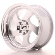 Japan Racing JR15 15x8 ET20 4x100/108 Machined Silver