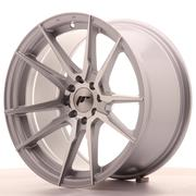Japan Racing JR21 17x9 ET35 5x100/114 Silver Machined