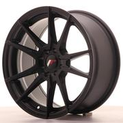 Japan Racing JR21 17x8 ET35 4x100/114 Matt Black