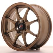 Japan Racing JR5 15x7 ET35 4x100 Dark Anodiz Bronze