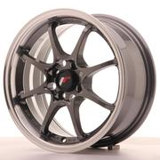 Japan Racing JR5 15x7 ET35 4x100 Gun Metal