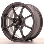 Japan Racing JR5 15x7 ET35 4x100 Matt Gun metal
