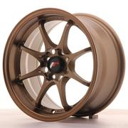 Japan Racing JR5 15x8 ET28 4x100 Dark Anodiz Bronze