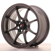 Japan Racing JR5 15x8 ET28 4x100 Matt Gun metal