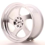 Japan Racing JR15 17x9 ET25 4x100/108 Machined Silver
