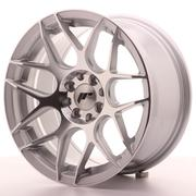 Japan Racing JR18 16x8 ET25 4x100/108 Silver Machined