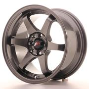 Japan Racing JR3 15x8 ET25 4x100/114 Gun Metal