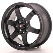 Japan Racing JR3 15x7 ET25 4x100/108 Matt Black