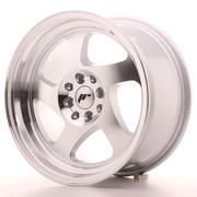 Japan Racing JR15 16x8 ET25 4x100/108 Machined Silver