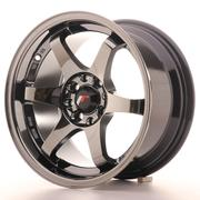 Japan Racing JR3 15x8 ET25 4x100/108 Black Chrome