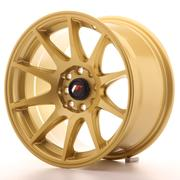 Japan Racing JR11 15x8 ET25 4x100/108 Gold