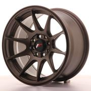 Japan Racing JR11 15x8 ET25 4x100/108 Matt Bronze