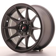 Japan Racing JR11 15x8 ET25 4x100/108 Matt Gun Metal