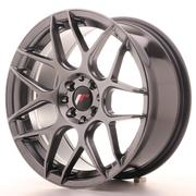 Japan Racing JR18 17x8 ET35 4x100/114 Hiper Black