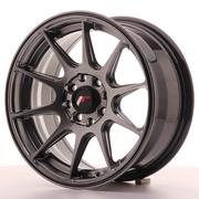 Japan Racing JR11 15x7 ET30 4x100/108 Dark Hiper Black