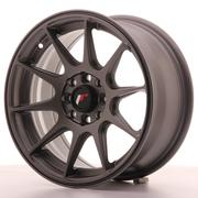 Japan Racing JR11 15x7 ET30 4x100/114 Matt Gun Metal