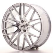 Japan Racing JR28 20x8,5 ET30 5x120 Silver Machine
