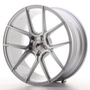 Japan Racing JR30 19x8,5 Custom Silver Machined (Ext. CB: 74,1)