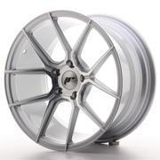 Japan Racing JR30 18x9,5 ET35 5x120 Silver Machine