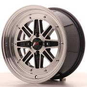 Japan Racing JR31 15x7.5 ET20 4x100 Black Machined