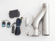 Electric Exhaust Cut Out Kit With Varex Remote 2.5""