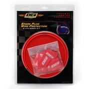 DeI Protect A Wire 8 Cylinder Kit  Red