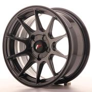 Japan Racing JR11 15x7 ET30 5H Custom Dark Hiper Black