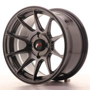Japan Racing JR11 15x8 ET25 4H Custom Dark Hiper Black