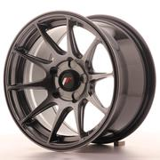 Japan Racing JR11 15x8 ET25 5H Custom Dark Hiper Black