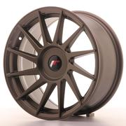 Japan Racing JR22 17x8 ET25-35 Custom Matt Bronze
